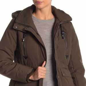 Lucky Brand Hooded Jacket Lined Parka Utility Coat
